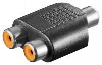 Adapter, Cinch-Buchse - 2x Cinch-Buchse