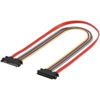 S-ATA Daten + Stromkabel Verlängerung