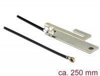 WLAN Antenne MHF IV/ HSC MXHP32 802.11 b/g/n PIFA 3 dBi 250 mm intern