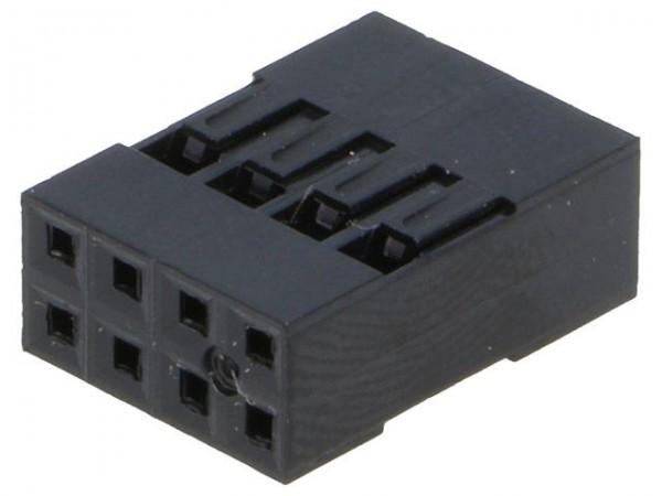 Dupont Gehäuse 2x4 Pin