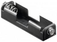 Batteriehalter für 1x Mignon AA mit Druckknopfanschluss