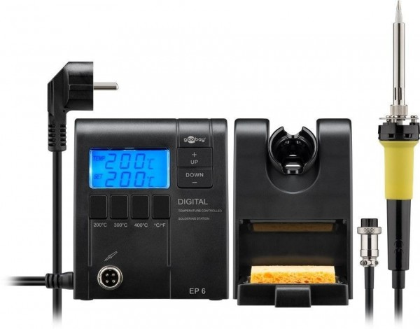 Fixpoint EP6 Digitale Lötstation mit Soll- und Ist Temperaturanzeige