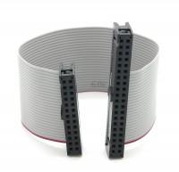 GPIO Adapter-Kabel 40pin Buchse -> 26 Pin Buchse grau 15cm für Raspberry Pi B+