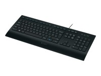 Logitech K280e USB Tastatur, DE-Layout, schwarz
