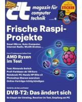 c't 6/2017 Magazin für Computer und Technik / Frische Raspi-Projekte