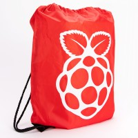 Raspberry Pi Drawstring Bag