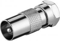 Adapter, F-Stecker - Koax-Stecker