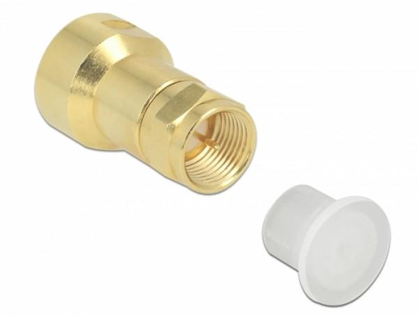 Staubschutz für F Stecker 10 Stück transparent