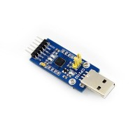 Konverter, micro USB Buchse - UART, CP2101
