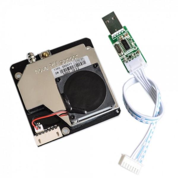 Nova Fitness SDS011 Feinstaub Sensor inkl. USB Adapter