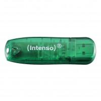 Intenso Rainbow Line USB 2.0 Stick 8GB grün