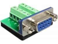 Adapter Terminalblock - D-Sub 9 Pin Buchse