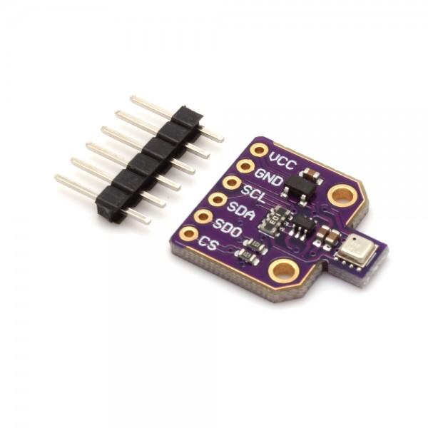 BME680 Breakout Board, 4in1 Sensor für Temperatur, Luftfeuchtigkeit, Luftdruck und Luftgüte