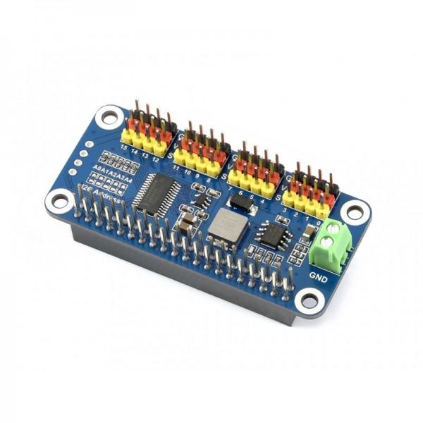 16 Kanal Servo Driver uHAT (I2C) für Raspberry Pi