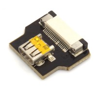 Micro HDMI Typ D Buchse, gerade, für DIY HDMI Kabel
