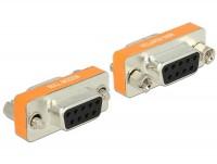 Nullmodem Adapter D-Sub Buchse - Buchse 9-polig