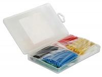 Schrumpfschlauch Sortiment 230-teilig farbig in Kunststoffbox