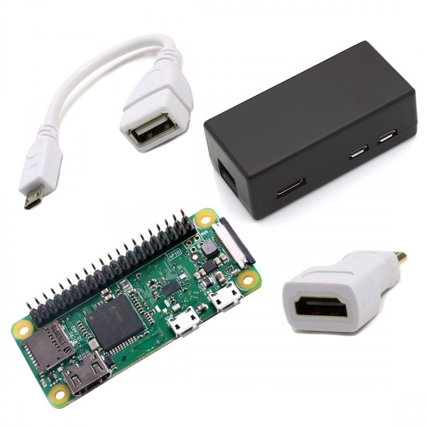Raspberry Pi Zero WH Light Starter Kit