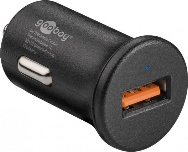 Quick Charge QC3.0 USB-Autoschnellladegerät 3,0A schwarz