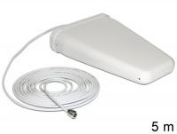 LTE Band 20/1/3/7 Antenne N Buchse 8 ~ 9 dBi direktional weiß outdoor