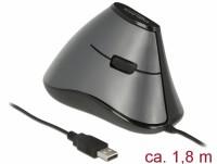 Ergonomische vertikal optische 5-Tasten USB Maus