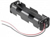 Batteriehalter für 8x Mignon AA 2+2/2+2 mit 150mm Anschlusskabel