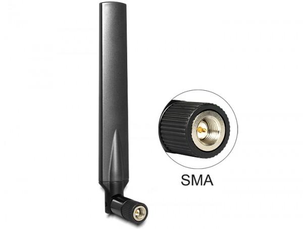 LTE Antenne SMA 1 ~ 4 dBi omnidirektional Gelenk schwarz