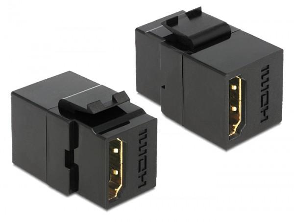 Keystone HDMI Buchse > HDMI Buchse schwarz