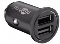 Dual USB-Autoladegerät 4,8A schwarz