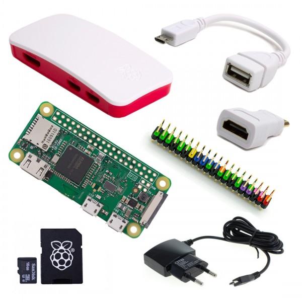 Raspberry Pi Zero W - Zusammenstellung: Full Starter Kit