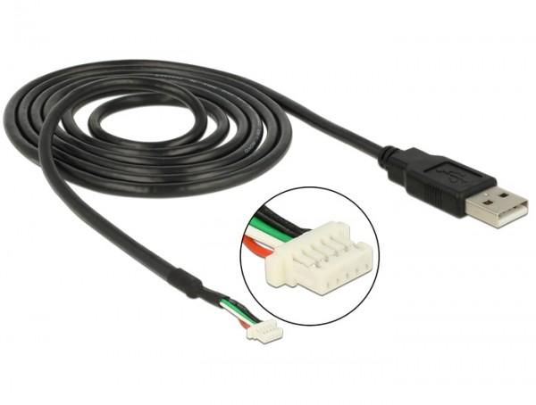 Modul Anschlusskabel USB 2.0 A Stecker - 5 Pin Kamera Stecker V1,9 1,5 m