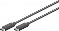 USB-C 3.1 Generation 1 Kabel, C Stecker – C Stecker, schwarz