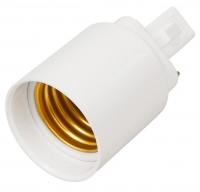 Lampensockel-Adapter, G24 auf E27