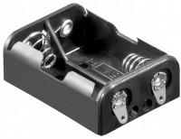 Batteriehalter für 2x Ladyzelle N mit Lötanschluss