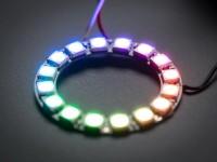 NeoPixel Ring - 16 x 5050 RGB LED mit integrierten Treibern
