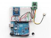 Serielle Miniatur-TTL-JPEG-Kamera mit NTSC-Video