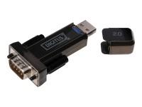 USB - RS232 Konverter / Adapter mit USB Verlängerung, FTDI Chipsatz