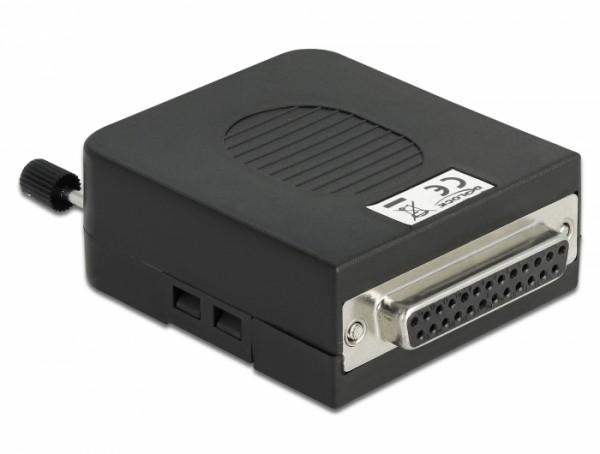 Adapter Parallel DB25 Buchse - Terminalblock 26 Pin mit Gehäuse