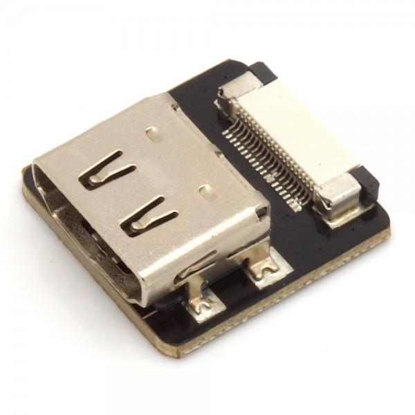 HDMI Typ A Buchse, gerade, für DIY HDMI Kabel