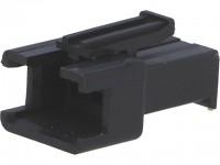 Steckverbinder Gehäuse kompatibel zu JST SMR-03V-B, männlich, 3 Pin, schwarz