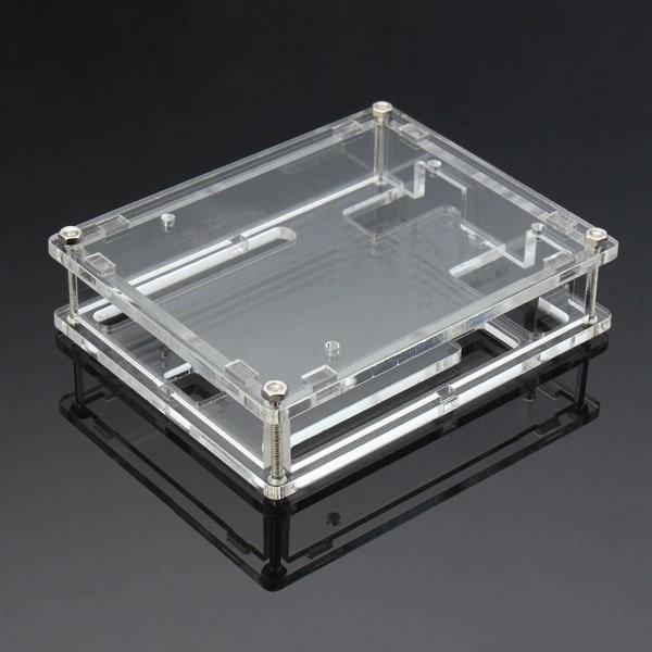 Acryl Gehäuse für Arduino Uno - transparent