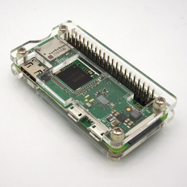 Acryl Gehäuse für Raspberry Pi Zero W / WH