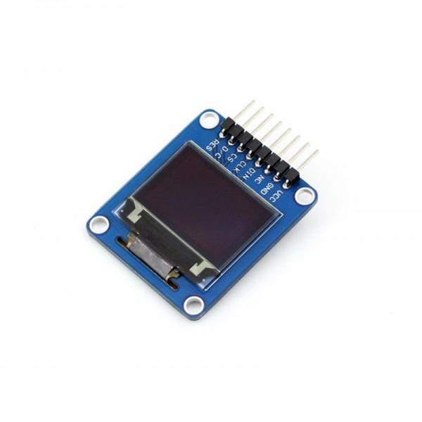 "0.95"" 96x64 OLED Display Modul, RGB, SPI Interface, horizontale Stiftleiste"