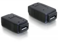 USB 2.0 Hi-Speed Adapter Micro B Buchse - Micro B Buchse schwarz