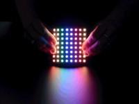 Biegsame 8x8 NeoPixel RGB LED Matrix
