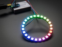 NeoPixel Ring - 24 x 5050 RGB LED mit integrierten Treibern
