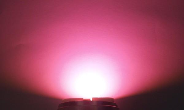 OptoSupply LED, 5mm, 4.2-4.7lm, 15°, klar, cherry