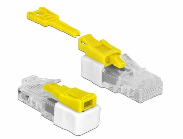 """RJ45 """"Secure"""" Port Blocker Set mit 5 Stück"""