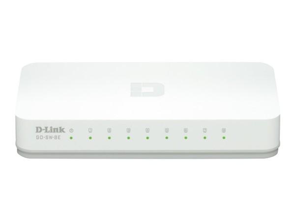 D-Link 8-Port Fast Ethernet Easy Desktop Switch