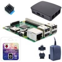 Raspberry Pi 3 Modell B - Starterkit schwarz